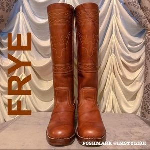 Frye Shoes - Frye Campus Stitching Horse Boots
